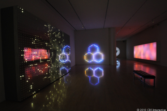 Ledathematical Shapes Are Probably Not What Most People Would Think Of As Art But For Leo Villareal These Complex Led Based Creations Is