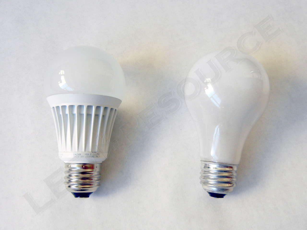 to the 8 6w led bulb and the 60w bulb barely edged out the led bulb. Black Bedroom Furniture Sets. Home Design Ideas