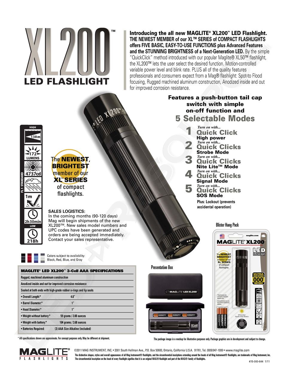 Maglite New Products For 2011 Led Resource