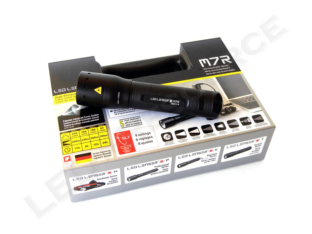 LED Lenser M7R Review