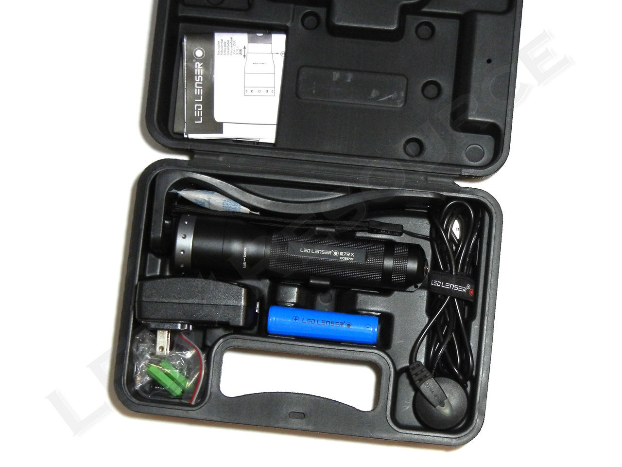 Led Lenser M7rx Rechargeable Flashlight Review Led Resource