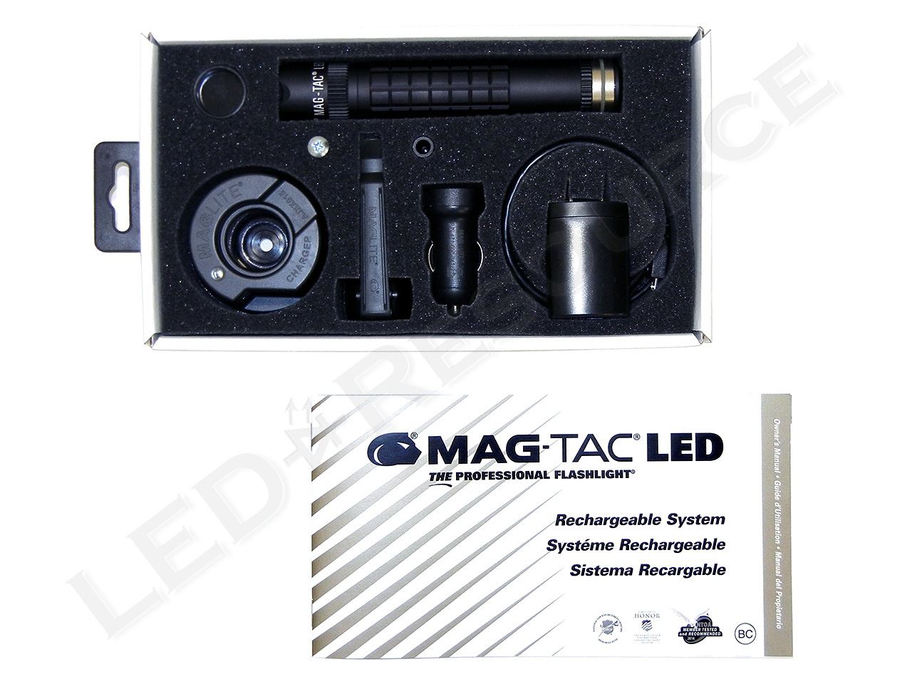 Maglite Mag Tac Led Rechargeable Review Led Resource